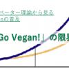 【Go Vegan!の限界】イノベーター理論から見るVeganの普及 #1